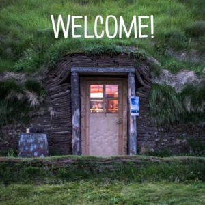 Welcome your parents to your classroom as you would welcome anyone into your home. (Isn't this house in the earth crazy cool?)
