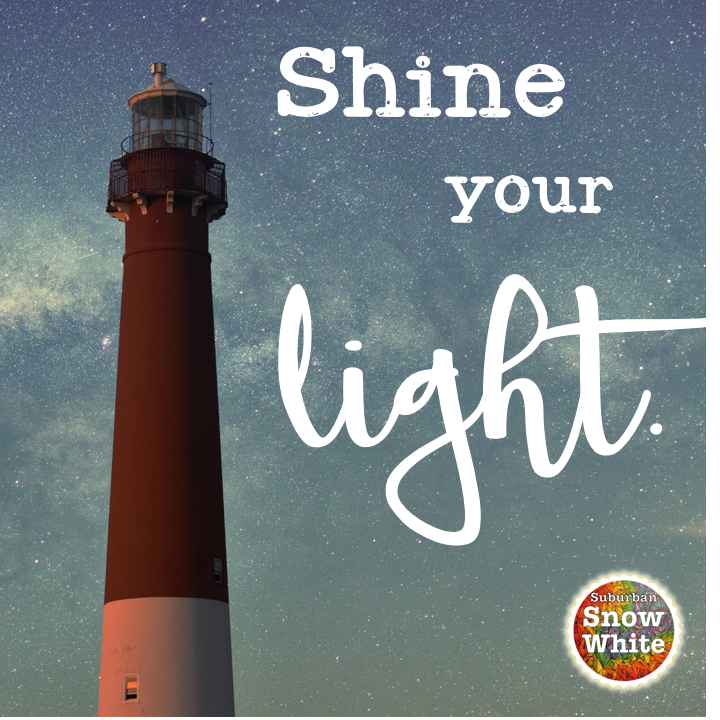 This lighthouse at night illustrates that our teaching skills are nothing if we don't shine our light.