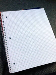 Graph notebooks are so helpful to students who need help with the study skill of math organization.