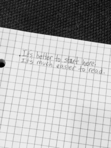 It's better to start here. It's much easier to read.