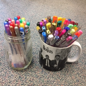 Pretty gelpens can making effective feedback way more fun.